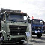 В Белоруссии показали первый электрогрузовик МАЗ-4381Е0
