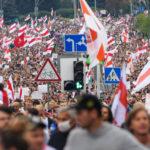 В Минске число задержанных на акции превысило 200 человек