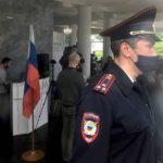 В Новгороде полиция пришла на съезд муниципальных депутатов