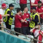 UEFA расследует обстоятельства конфискации радужного флага у болельщика в Баку
